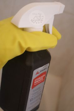 How To Clean Your Home With Hydrogen Peroxide - Cottage Notes Speed Cleaning, Household Cleaning Tips, Deep Cleaning Tips, Cleaning Checklist, House Cleaning Tips, Diy Cleaning Products, Cleaning Solutions, Cleaning Hacks, Cleaning Schedules