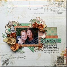 KaiserCraft Miss Empire by Susan Longman Scrapbook Journal, Scrapbook Pages, Scrapbooking Ideas, Smash Book Pages, Layout Inspiration, Page Design, Color Mixing, Empire, Projects To Try