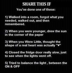 Share this if you've done one of these