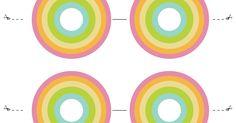 rainbow cupcake toppers -FREE printable.pdf