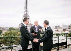 Geoff & Mike LGBTQ+ Wedding | Photographer: @ianholmes | Publisher: @handhweddings