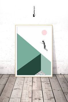 Minimalist Poster, Modern Art, Dorm Room Decor, College Student Gifts, Gift for Men, Teenager, Mint Wall Art, Under 10, Coworker Printables **************************************************** ❗️ PLEASE NOTE: 1 | This is a digital download item. No physical item will be shipped. 2 |