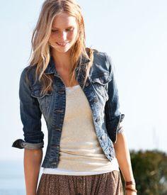 Love the jean jacket