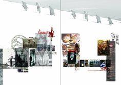 ARTS THREAD Portfolios - ARTS THREAD Fashion Illustration Portfolio, Fashion Design Sketchbook, Fashion Design Portfolio, Layout Inspiration, Sketchbook Inspiration, Fashion Inspiration, Textiles Sketchbook, Portfolio Layout, Concept Board