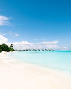 TROPICAL LOCATIONS — HANNAH PREWITT Luxury Resorts, Resort Dresses, Coast Australia, Water Reflections, Beach Landscape, Sunset Sky, Sunshine Coast, Fiji, Maldives