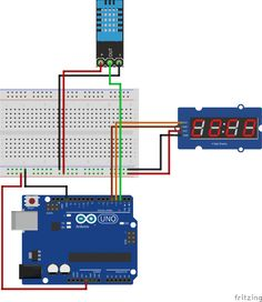 OVERVIEW Move away from the Serial Monitor to display values from your sensor by using this simple to use 4 Bits 7 segment LED module. Thanks to the I2C Bus you