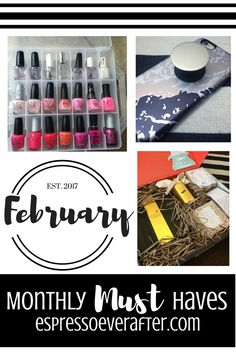 Monthly MUST Haves - February 2017 - nail polish organizer - thoughtfully gifted stories gift set - popsockets - my favorite products - organization - boxed gift set - phone holder