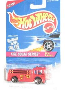 Fire Squad Series #4 Fire Eater 5-Spoke Wheels #427 Collectible Collector Car Mattel Hot Wheels 1:64 Scale by Mattel. $9.75. Perfect Hot Wheels Diecast for every collector!. Diecast Metal Hot Wheels Car Perfect For That Hot Wheels Collector!. Fun For All Ages! Serious Collectors And Kids Alike!. Great Investment For Any Hot Wheels Collector.. A Perfect Addition To Any Hot Wheels Collection!. Fire Squad Series #4 Fire Eater 5-Spoke Wheels #427 Collectible Collector Car ...