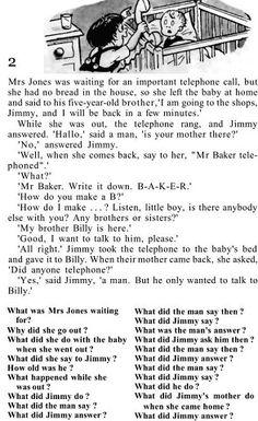 Small English Story, English Stories For Kids, English Lessons For Kids, English Reading, English Book, English Writing, Teaching English Grammar, English Vocabulary, Reading Stories