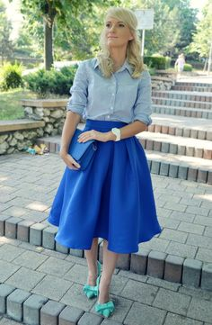 eager4fashion: Tales of the midi skirt