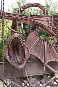 Finca Güell  porta de  Gaudí