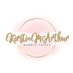 Business Logo, Pink And Gold, Logos, Makeup, Artist, Instagram, Make Up, Face Makeup, Artists