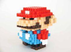 Super Mario Perler Bead 3d figure