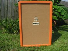 orange 6x12 guitar cabinet. RARE as hell!