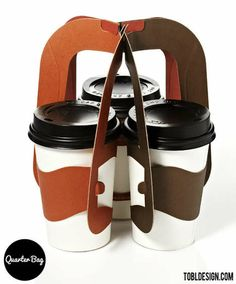 Clutchable Coffee Cup Sleeves