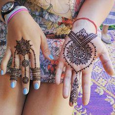 """Love the Fairfax crew lots of """"artist's choice"""" today. #henna #mehndi…"""