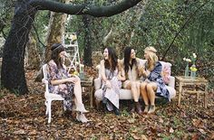 An eclectic boho look in this outdoor lounge vignette from found Vintage Rentals styled by Sterling Social and shot by Braedon Flynn Pink Couch, Mobile Boutique, Friend Outfits, Vintage Ideas, Boho Look, Lounge Areas, Outdoor Lounge, Vintage Bohemian, Vignettes