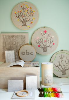 New! 4 Seasons of Embroidery from Purl Soho + EggPress