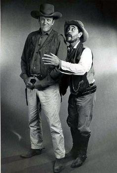 Gunsmoke Matt Dillon and Festus Western Film, Western Movies, Western Style, Vintage Tv, Vintage Movies, Vintage Horror, Tv Actors, Actors & Actresses, Ken Curtis