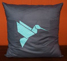 paper-pieced origami quilt blocks by Sew, Mama, Sew! #quilts #sewing #fabric