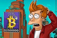 BITCOIN estará en  250.000 $$ en 2020