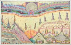 Alexandro Garcia, born in Uruguay began making drawings after seeing a UFO.