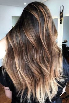 Are you going to balayage hair for the first time and know nothing about this technique? We've gathered everything you need to know about balayage, check! Brown Hair With Blonde Balayage, How To Bayalage Hair, Brown Hair With Highlights, Bright Highlights, Blonde Honey, Medium Blonde, Honey Hair, Balayage Highlights, Hair Medium