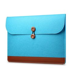 Fashion Soft Sleeve Bag Case For Macbook Air Pro Retina 11 12 15 inch Laptop Anti-scratch Cover For Mac book inch Macbook Air Sleeve, Macbook Air Pro, Business Folder, Incheon, Laptop Case, Blue Bags, Card Case, Continental Wallet, Bronze