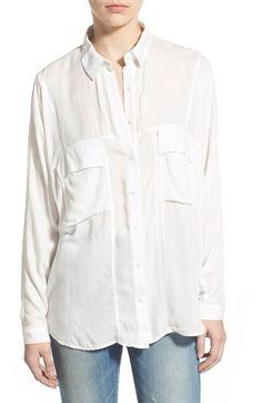 Leith Oversize Shirt | Nordstrom