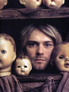 Kurt Cobain by Mark Seliger 1993 // Interesting and a professional photographer I like.
