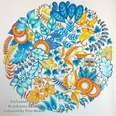 Video Pencil Colouring Tutorial Leaves In Enchanted Forest