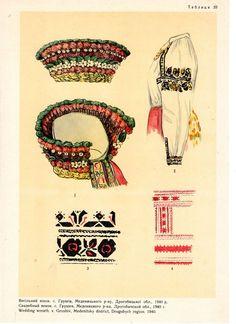Ukraine Traditional Headdress, Folk Clothing