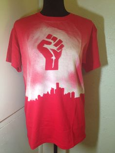 XL Kids' Detroit Strong Tee by NamasteCoCreations on Etsy