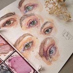 A Level Art Sketchbook, Arte Sketchbook, Sketchbook Layout, A-level Kunst, Art Sketches, Art Drawings, Art Hoe, Pretty Art, Art Portfolio