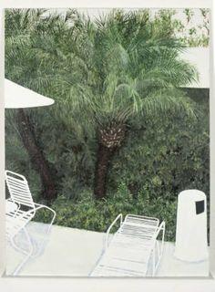 "Saatchi Art Artist Renata Fernandez; Painting, ""DECK CHAIRS SERIES No6"" #art"