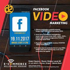Event Seminar Facebook Video Marketing: FACEBOOK VIDEO MARKETING SEMINAR 19 Nov 2017