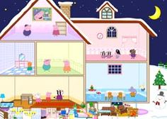 JuegosdePeppaPig.es - Juego: Casa de Juguete Peppa Pig - Jugar Online Gratis Online Gratis, Projects To Try, Family Guy, Character, Molde, Play Therapy, Toy House, Fun Games, Piglets