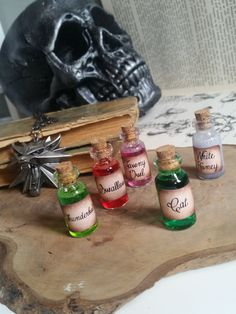 The Witcher Potion Necklaces  Magical potion by MieMoeShop on Etsy