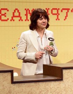 Harry Styles as Mick Jagger on SNL.
