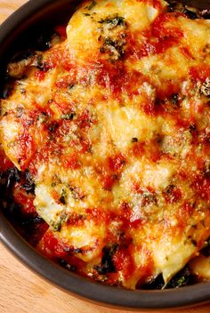 Potato and Mushroom Bake
