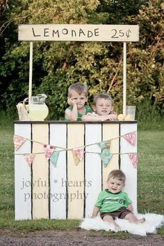 Lemonade Stand from Etsy Lemonade Stand, Custom Photography Prop, Childrens Photos, Mini Session Prob, Summer, Valentines, UNFINISHED