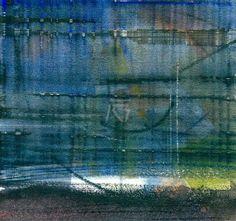 GRISAZUR: Acuarela sobre papel, 16,5x17,5 cm.Abr. 30, 2015