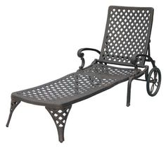 Darlee Nassau Chaise Lounge Chair - Versatile, comfortable, and elegant, the Darlee Nassau Chaise Lounge Chair lets you soak up the sun in style. This chaise lunge features...