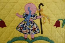 Child's Quilt ~Applique  Mary Had 2 Little Lambs!