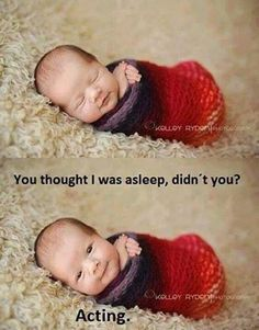 Lol, that's adorable....