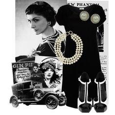 """Just watched the movie """"Coco Before Chanel"""". Love that she dares to be different. Beautiful 1920s fashions & of course the LBD!"""
