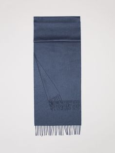 Classic Cashmere Scarf Made In Scotland, In A Range Of Colours