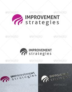 Improvement Strategies Logo Template