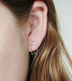 Catbird::THE HUNDRED YEAR SLEEP::Sleeping Beauty Chandelier Earrings