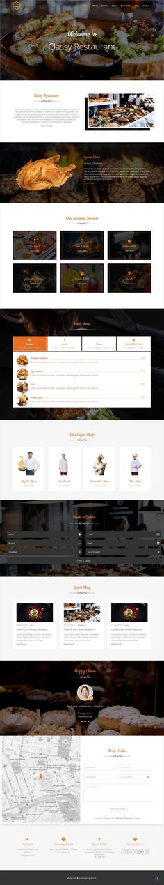 Classy is a wonderful multipurpose HTML5 #bootstrap template for stunning #restaurant and #cafe websites with 30+ niche homepage layouts download now➩ https://wrapbootstrap.com/theme/classy-multipurpose-template-WB080K57G?ref=datasata